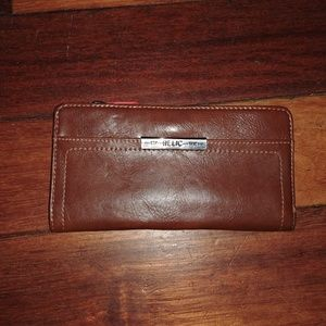 RELIC wallet cognac orange like new